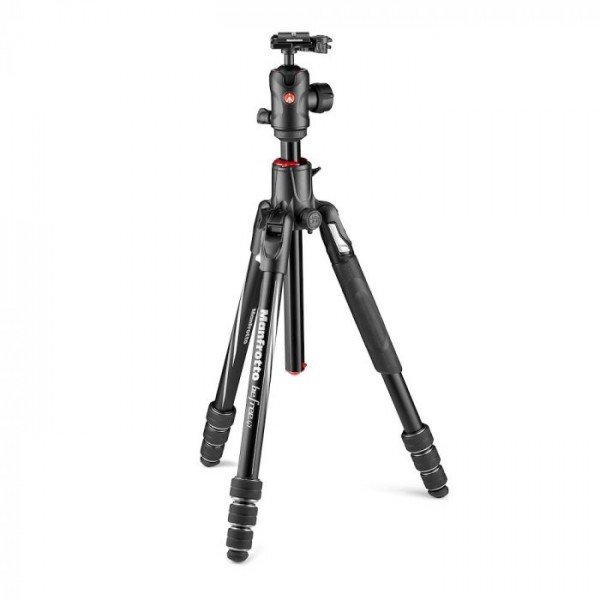 Manfrotto MKBFRA4GTXP-BH Befree GT XPRO Aluminum Travel Tripod with 496 Center Ball Head