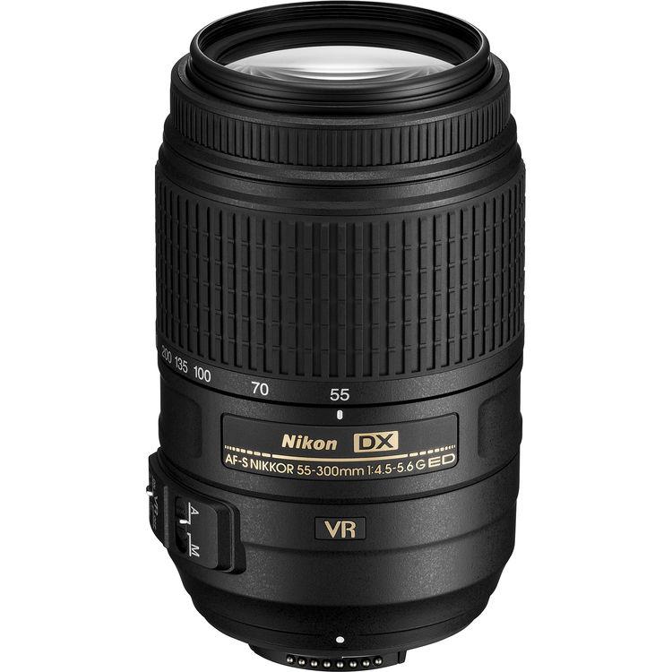 Nikon DX 55-300mm F4.5-5.6G AF-S VR