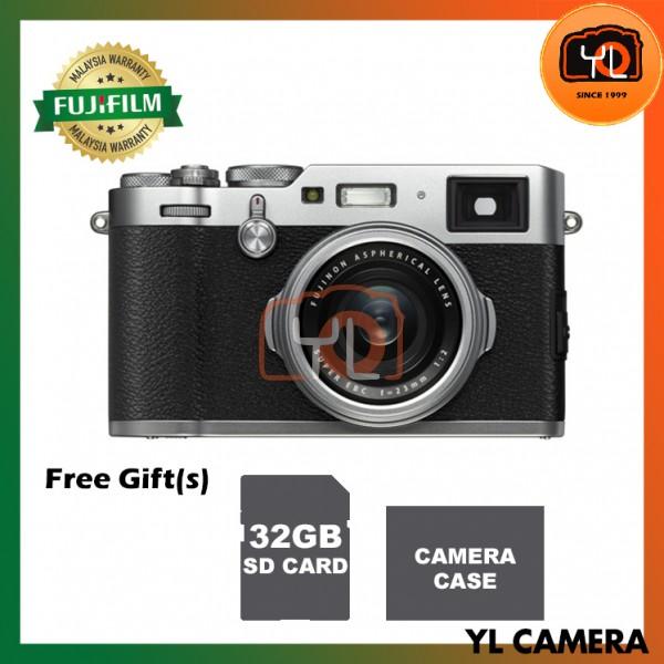 Fujifilm X100F (Silver) [Free 32GB SD Card]