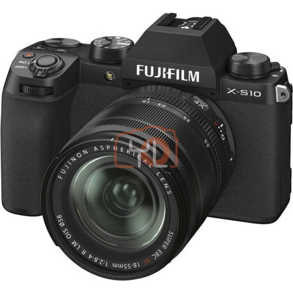 Fujifilm X-S10 W/ 18-55mm - Black (Free 32GB SD Card)