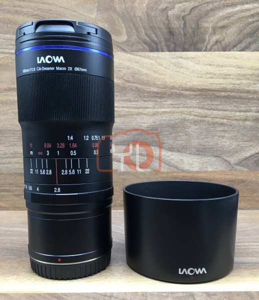 [USED @ YL LOW YAT]-Laowa 100mm F/2.8 2X Ultra Macro APO Lens For Nikon Z Mount,95% Condition Like New,S/N:006722