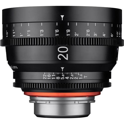 Samyang Xeen 20mm T1.9 Lens for Sony E Mount