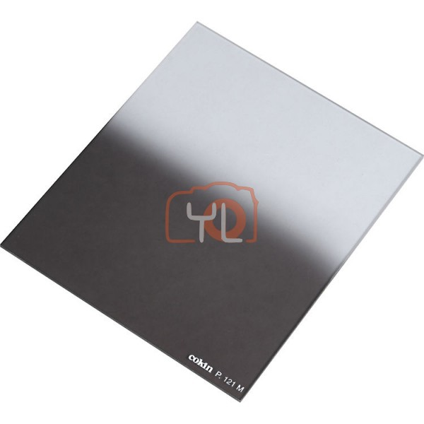 Cokin P Series Square Filter P121M Hard-Edge Graduated ND (2-Stop)