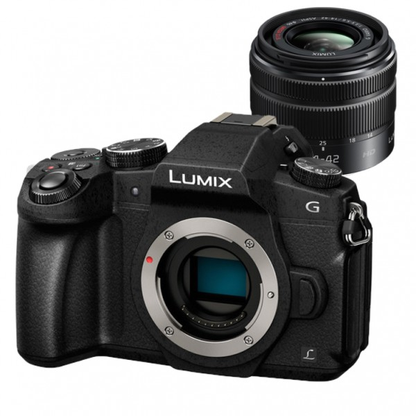 Panasonic Lumix DMC-G85 W/14-42mm [Free Panasonic 16GB SD Card & Carrying Case]