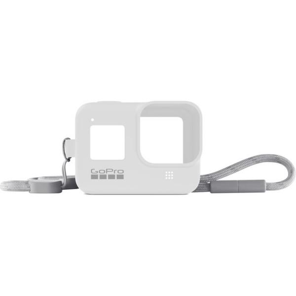 GoPro HERO8 Sleeve + Lanyard (White Hot)