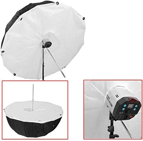 Godox Deep Umbrella Silver 130cm With Soft Diffuse