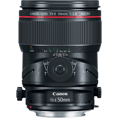 Canon TS-E 50mm F2.8 L Macro Tilt-Shift