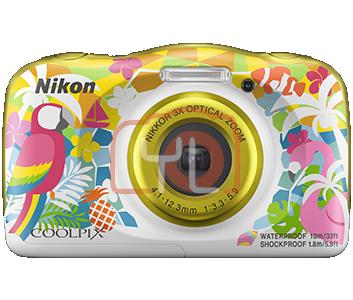 Nikon Coolpix W150 - Yellow (Free 16GB SD Card & Camera Case)