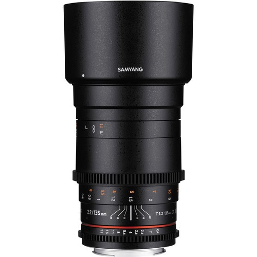 Samyang 135mm T2.2 AS UMC VDSLR II Lens for Pentax K