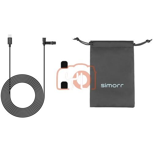 SmallRig Simorr Wave L3 Lavalier Microphone for Lightning Devices (Black)