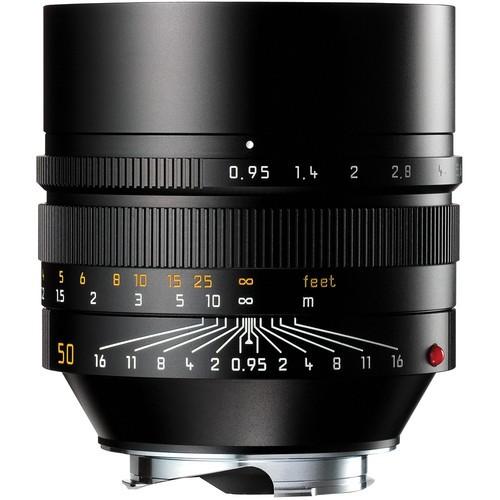Leica 50mm F0.95 Noctilux-M ASPH. - Black (11602)