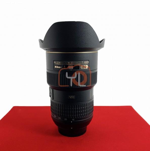 [USED-PJ33] NIKON 16-35MM F4G AF-S VR N ED, 95% Like New Condition (S/N:253574)