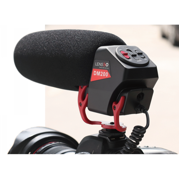 LensGo DM200 Video Shotgun Microphone