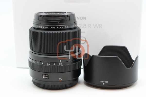 [USED-PUDU] Fujifilm 45mm F2.8 GF R WR 98%LIKE NEW CONDITION S/N:88A00290