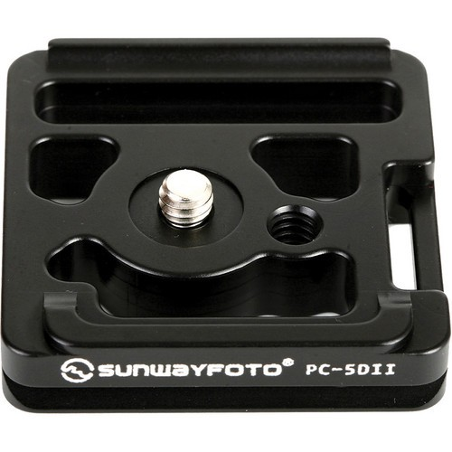 Sunwayfoto PC-5DII Quick Release Plate for Canon 5D Mark II Camera