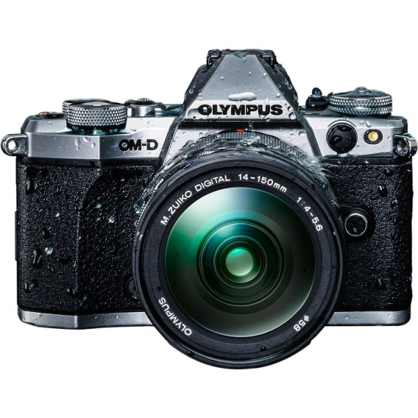 (Year End Promo) Olympus OM-D E-M5 Mark II + 14-150mm F4-5.6 M. Zuiko (Silver)