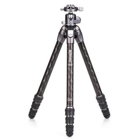 Benro TTOR24CGX30 Tortoise Columnless Carbon Fiber Two Series 4-Leg Section Tripod with GX30 Ballhead