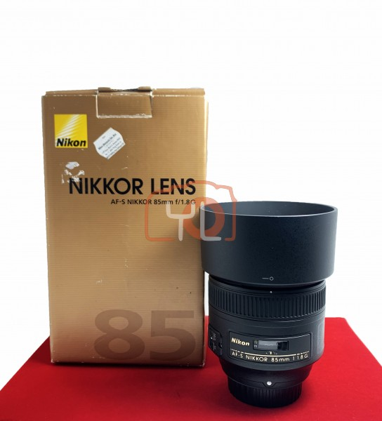 [USED-PJ33] Nikon 85MM F1.8 G AFS, 90% Like New Condition (S/N:220569)