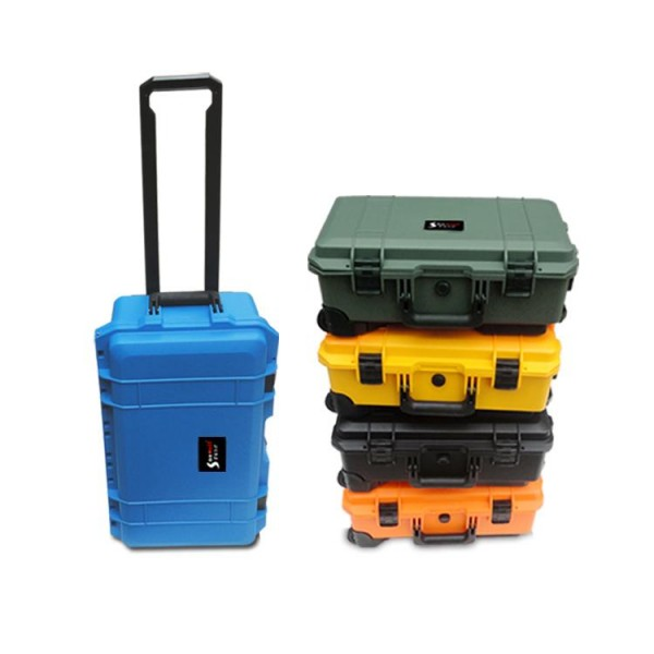 Trolley Hard Case for Digital Cameras (Green)