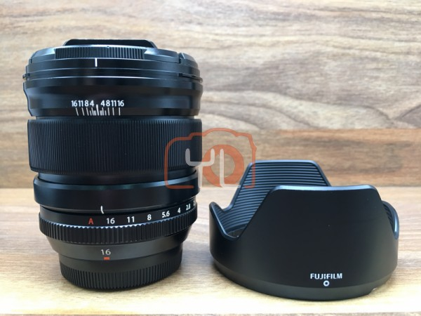 [USED @ YL LOW YAT]-Fujifilm XF 16mm F/1.4 R WR Lens,90% Condition Like New,S/N:56A14127
