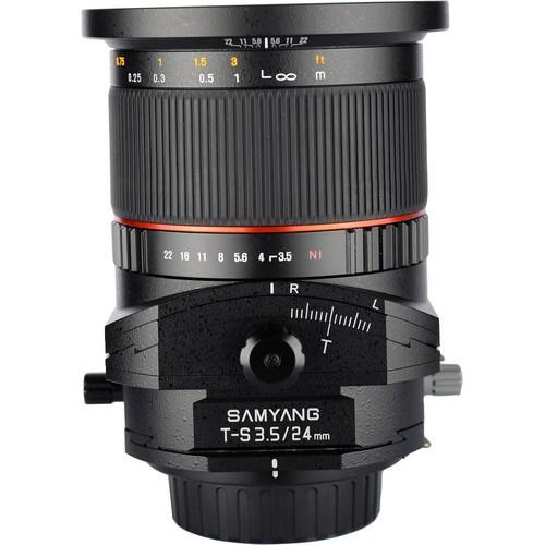 Samyang 24mm F3.5 ED AS UMC Tilt-Shift Lens for Sony Alpha