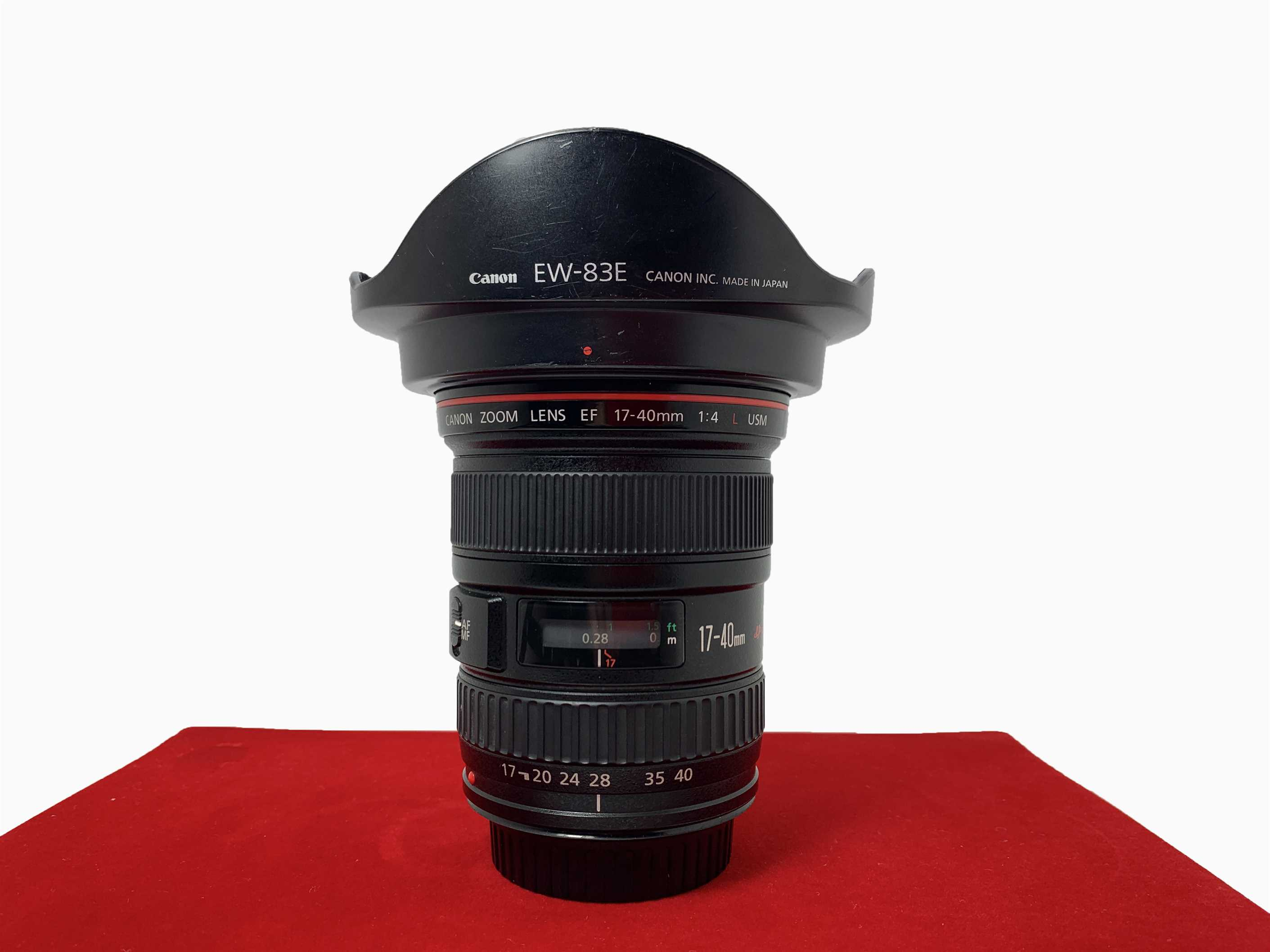 [USED-PJ33] Canon 17-40mm F4 L EF USM Lens, 90% Like New Condition (S/N:1860797)
