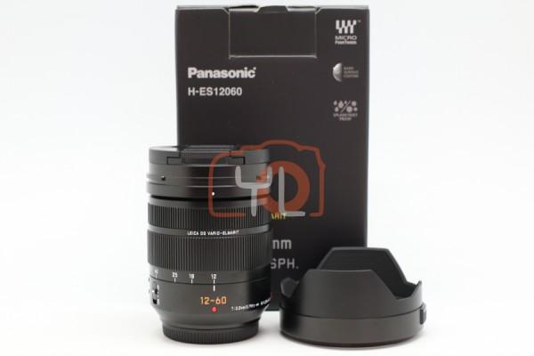 [USED-PUDU] Panasonic 12-60MM F2.8-4 DG OIS Vario Elmarit ASPH 95%LIKE NEW CONDITION SN:XD7GA103081