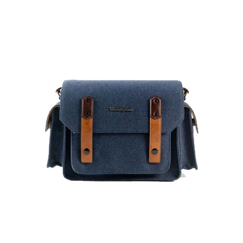 (SPECIAL DEAL) Herringbone Papas Pocket V3 Medium Camera Bag (Navy)