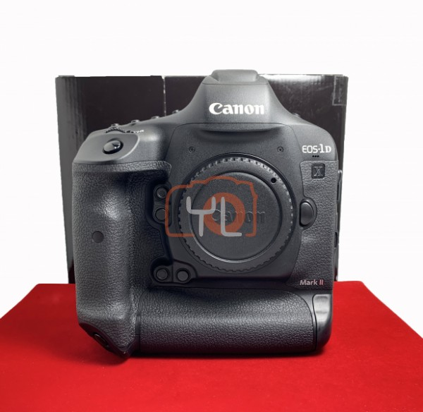 [USED-PJ33] CANON EOS 1DX Mark II Body (SC:1500), 95% Like New Condition (S/N:058011000727)
