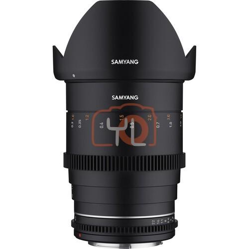 Samyang 35mm T1.5 MK2 Cine Lens
