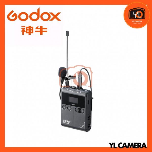 Godox TX1 Wireless Bodypack Transmitter with Omni Lavalier Microphone