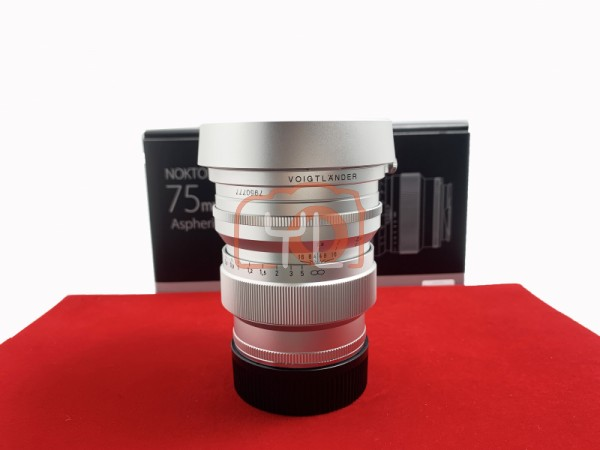 [USED-PJ33] Voigtlander 75mm F1.5 Nokton ASPH (Leica M), 90% Like New Condition (S/N:7950777)