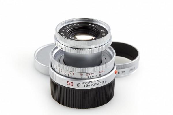 Leica 50mm F2.8 Elmar-M - Silver (11823)