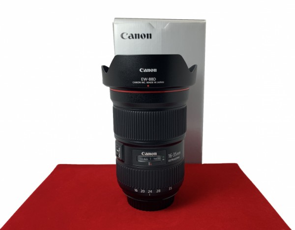 [USED-PJ33] CANON 16-35MM F2.8 L III EF USM Lens, 95% Like New Condition (S/N:5830000490)