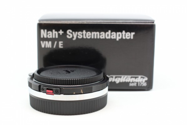 [USED-PUDU] Voigtlander VM-Sony E Close Focus Adapter 90%LIKE NEW CONDITION SN:08538723