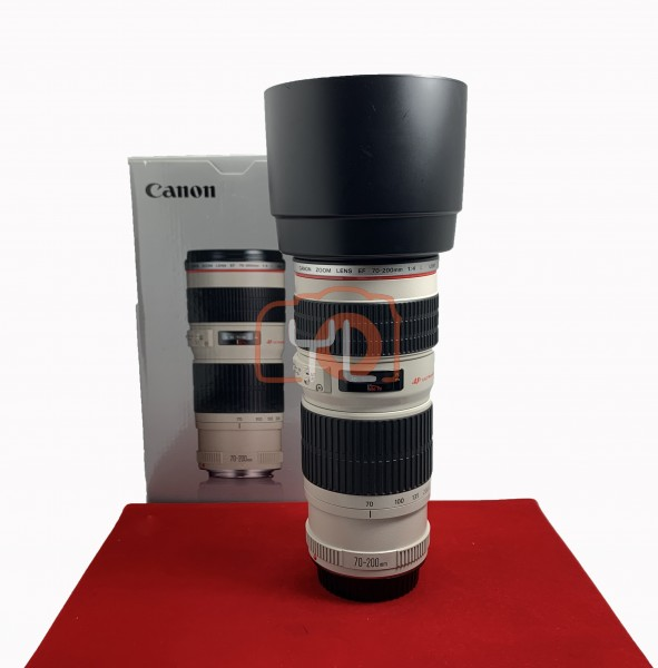 [USED-PJ33] Canon 70-200mm F4 L USM EF, 90% Like New Condition (S/N:638243)