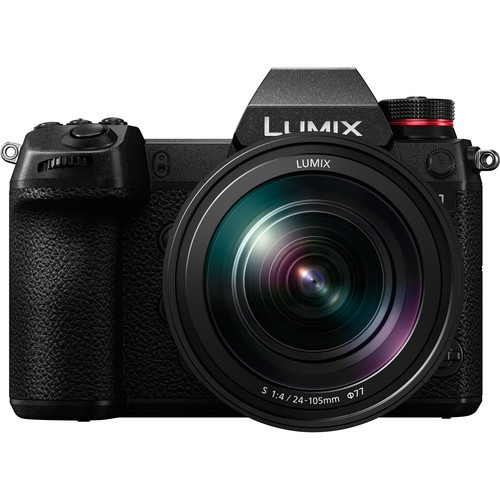 Panasonic Lumix DC-S1 + 24-105mm S F4 [Free 64GB & Bag]