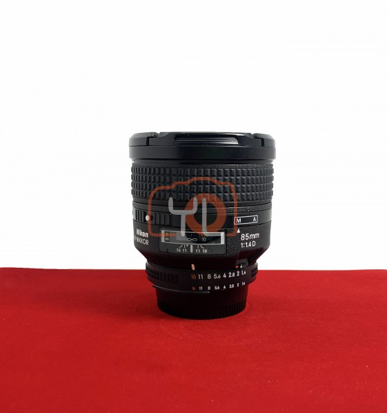 [USED-PJ33] Nikon 85MM F1.4 AFD, 90% Like New Condition (S/N:401821)