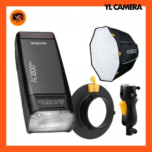 Godox AD200Pro TTL Pocket Flash W/ MagBox CUSTOM Kit