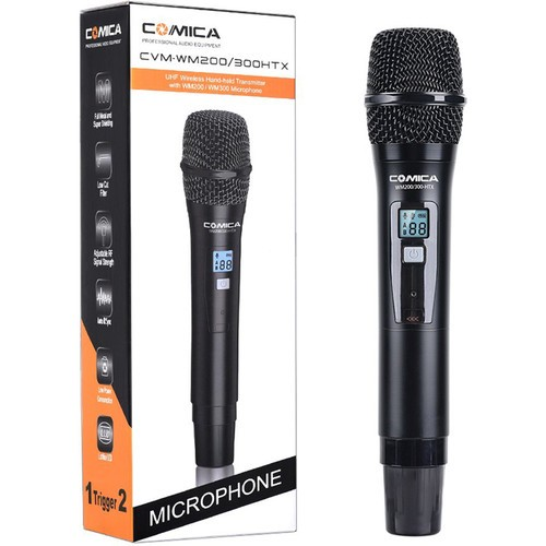 (PRE-ORDER) Comica Audio CVM-WM200300HTX Wireless Handheld Microphone
