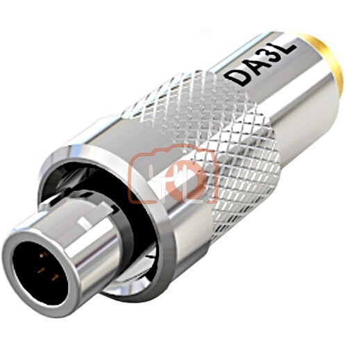 Deity Microphones DA3L Microdot to 3-Pin LEMO Adapter