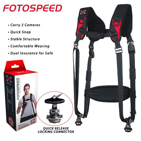 GGS Foto Speed F7 Jaguar Double Camera Strap
