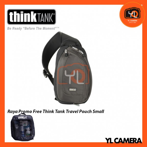 Think Tank Photo TurnStyle 10 V2.0 Sling Camera Bag (Charcoal) Free Think Tank Photo Travel Pouch - Small