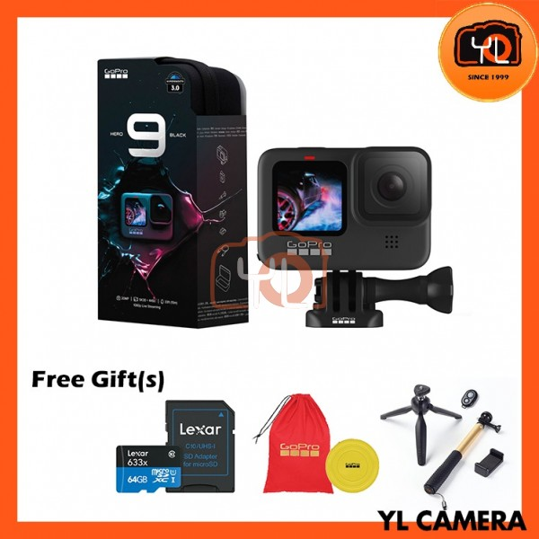 GoPro HERO9 Black (Free 64GB microSD Card)
