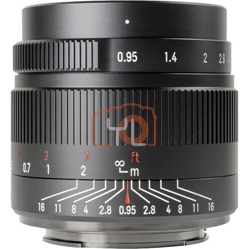 7artisans 35mm F0.95 for Canon EOS-M (Black)