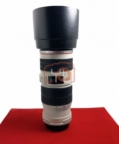 [USED-PJ33] Canon 70-200MM F4 EF L IS USM , 85% Like New Condition (S/N:319912)