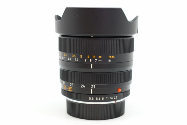 [USED-PUDU] Leica 21-35mm F3.5-F4 ASPH Vario-Elmar-R 95%LIKE NEW CONDITION SN:3925761