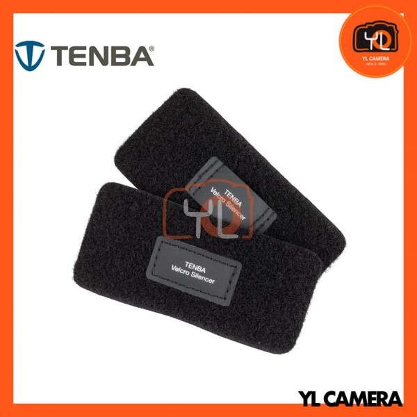 Tenba Touch Fastener Silencers (2 Patches, Black)