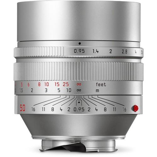 Leica 50mm F0.95 Noctilux-M ASPH. - Silver (11667)