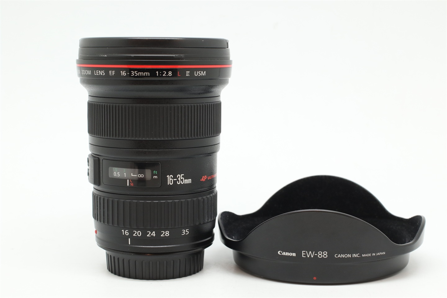 [USED-PUDU] CANON 16-35MM F2.8 L II EF USM 88%LIKE NEW CONDITION  SN:3626187